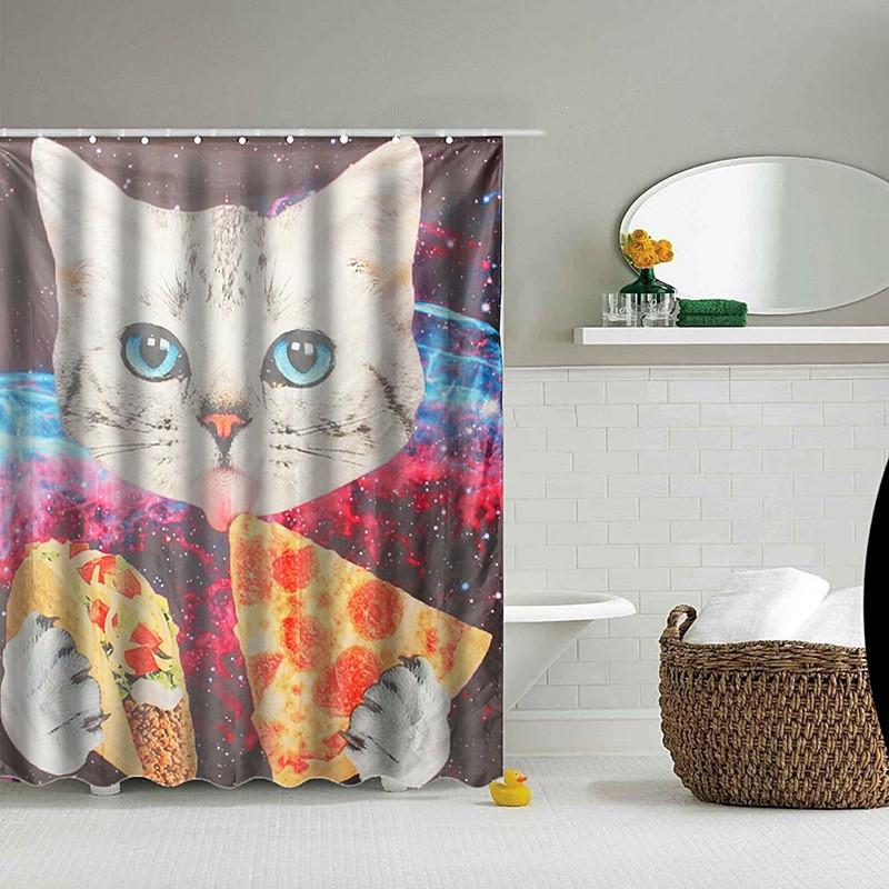 Badass Shower Curtains