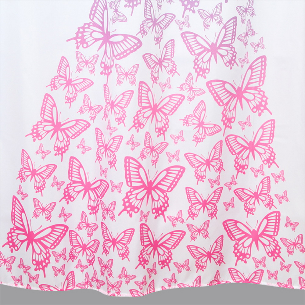 Butterfly Princess Shower Curtain